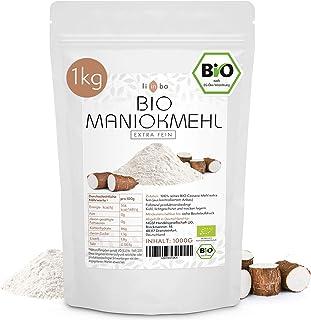 MANIOKMEHL Bio • Cassava Mehl •1kg • Glutenfreies Mehl • kontrollierte BIOqualität • PALEO • glutenfrei backen • in Deutschland abgefüllt