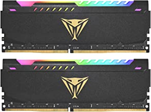 Patriot Viper Steel RGB DDR4 32GB (2 x 16GB) 3600MHz Kit - PVSR432G360C0K