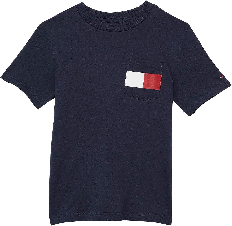 Tommy Hilfiger Boy's Flag Pocket Tee Shirt (Big Kids)