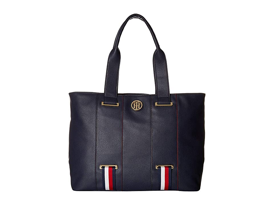 Tommy Hilfiger Astor Tote (Tommy Navy) Tote Handbags