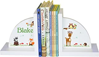 MyBambino Children's Personalized Woodland Bookends