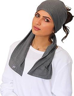 EYA - نساء لينة وخفيفة القطن جيرسي تحت وشاح حجاب عادي