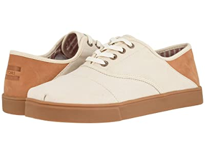 TOMS Cordones Convertible Cupsole (Natural Cotton Twill on Cupsole) Men