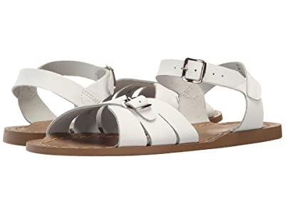 Salt Water Sandal by Hoy Shoes Classic (Big Kid/Adult) (White) Girls Shoes