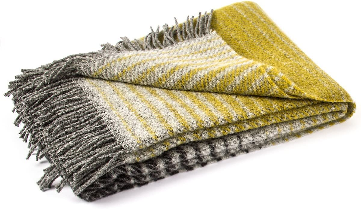 LinenMe Alberto Throw Greygold 51x79 Inch Grey overseas Gold x 51 79 Sales of SALE items from new works