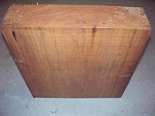 (Woodworking Lumber) Thick Large Cherry Bowl Blank Turning Block Lumber Wood 12 X 12 X 4