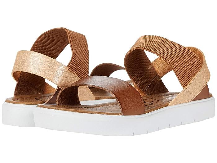 Blowfish  Boss (Arabian Sand/Rose Gold Galaxy) Womens Sandals