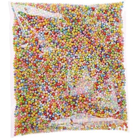 Skyeye Mini billes décoratives en polystyrène extrudé de couleurs et de tailles diverses pour loisirs créatifs, de 2,5 à 3,5mm