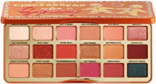 Too Faced Gingerbread Extra Spicy Eyeshadow Palette! 18 Pan Colorful Shades Eyeshadow Palette! Gingerbread Palette Highly Pigmented And Creamy Texture! Paraben-Free, Cruelty-Free And Gluten-Free!
