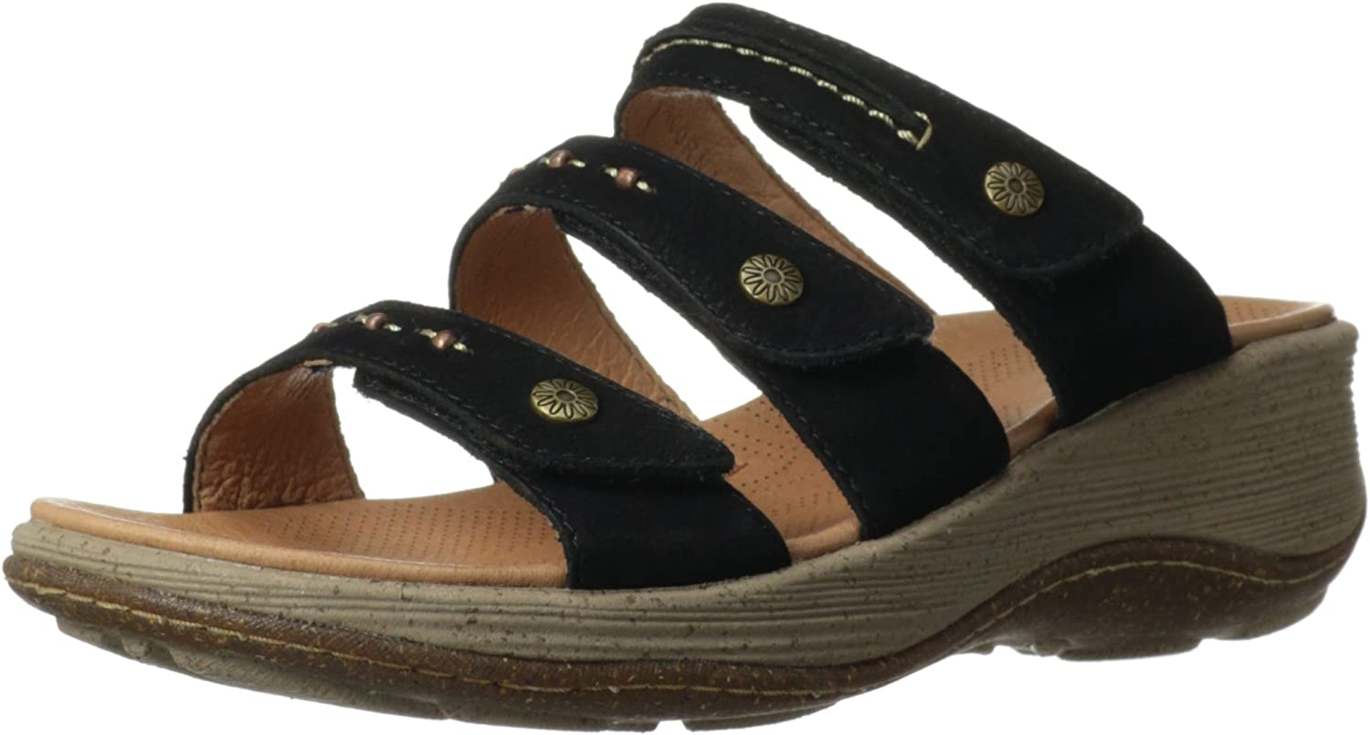 Acorn Women's Vista 3-Strap Wedge Sandal