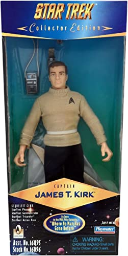 venta mundialmente famosa en línea 9  Captain James T. Kirk Kirk Kirk Action Figure As Seen in the 1966 Pilot Episode  Where No Man Has Gone Before  - Star Trek Collector Edition by Playmates Toys Inc.  venta de ofertas