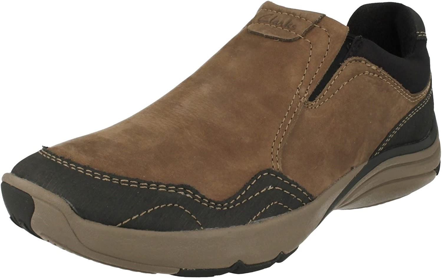 Clarks Mens Active Wear Outdoor Casual shoes Wave Travel