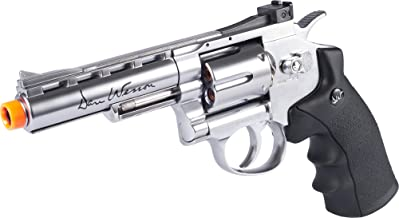 Evike ASG Licensed Dan Wesson WG CO2 Full Metal High Power Airsoft 6mm Magnum Gas Revolver