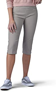 Lee womens Sculpting Slim Fit Pull-On Vent Hem Skimmer Pant Pants
