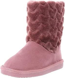 Disney Princess Girls' Toddler Princess Fur Boot
