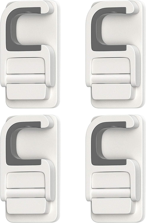 Finally resale start YEFU Mop and Broom Holder Wall PCS Adhesiv Self Mount-4 C-Shape Ranking TOP16
