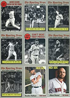 Best topps red sox world series Reviews