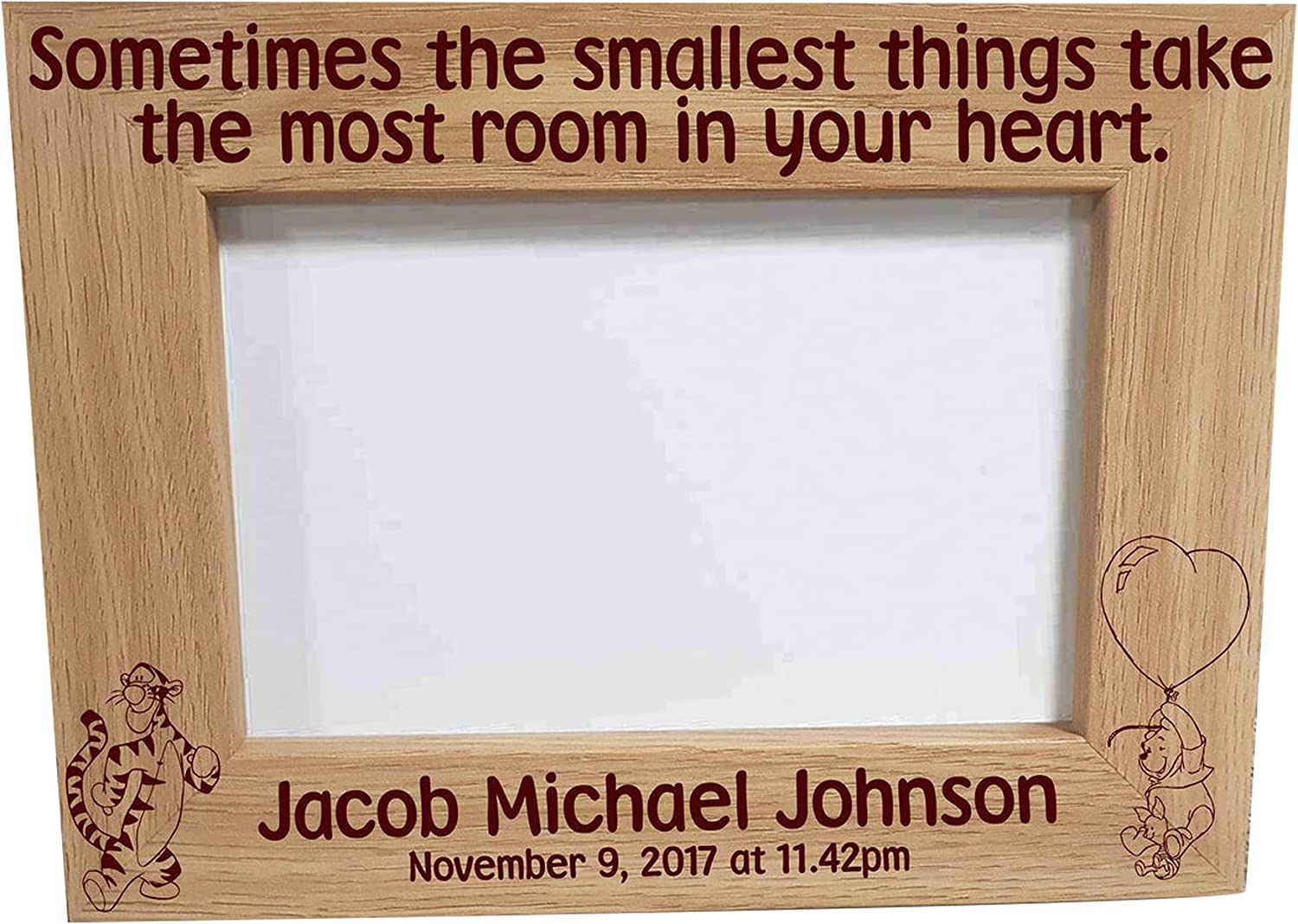 Max 55% OFF Personalised Newborn Photo Frame Keepsake New Baby Printed Birth Limited time sale