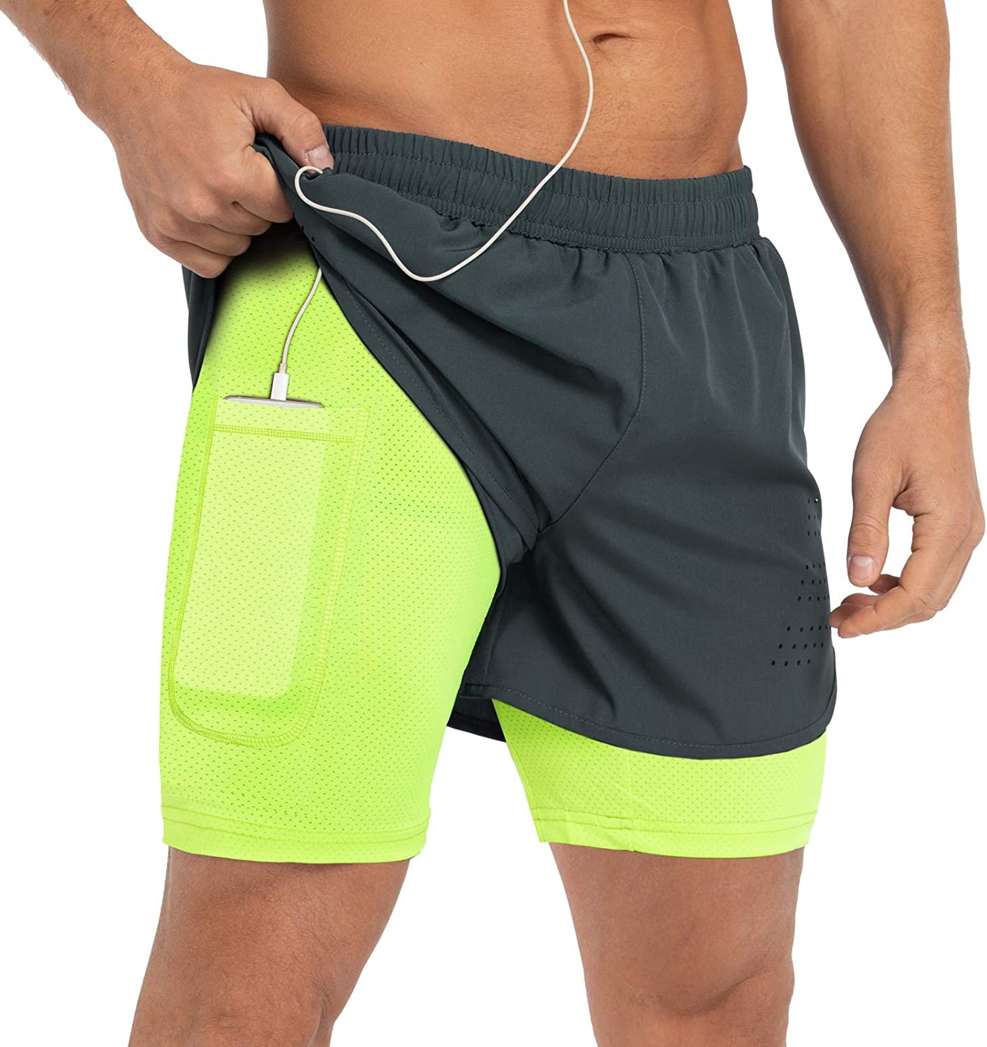 Gesean Men's Max 61% OFF 2 Special price in 1 Workout 5