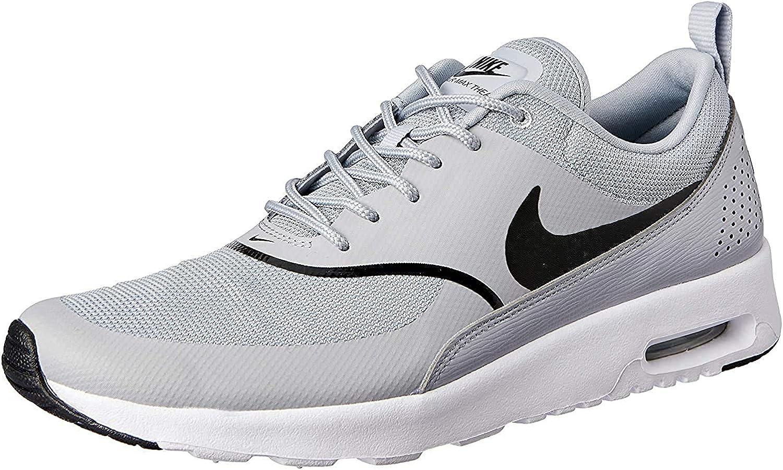 Nike Air Max Thea, Baskets Femme, Gris (Wolf Grey/Black 030), 36.5 ...