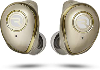 Raycon The Performer E55 True Wireless Bluetooth Earbuds - Bluetooth 5.0 Deep Bass in-Ear Headphones with Wireless Charging and Built-in Microphone Gold