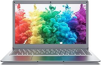 Jumper Ordenador portátil de 13,3 pulgadas Full HD, 8GB+128GB ordenador portátil, Intel cuatro núcleos procesador Laptop, ...