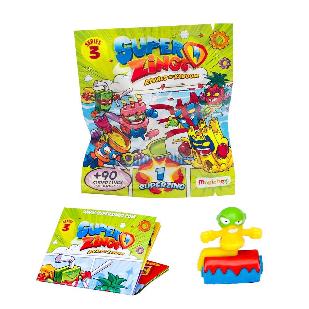Superzings - Serie 3 - Caja con 50 figuras , color/modelo surtido: Amazon.es: Juguetes y juegos