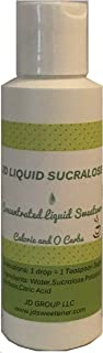 Best sucralose liquid concentrate Reviews