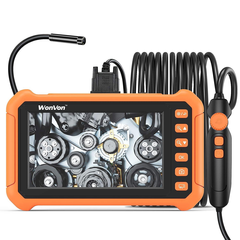 Industrial Endoscope Wonvon 1080P HD Digital 8mm Borescope Max 83% OFF Max 63% OFF Came