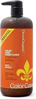 DermOrganic Color Care Conditioner with Sunflower Anti-Fade Extract, 33.8 fl.oz.