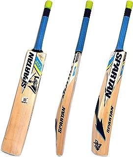 Spartan MS Dhoni Bum Bum Bhole Kashmir-Willow Cricket Bat, Short Handle