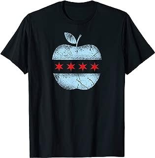 Chicago Flag Teacher School Cute T-Shirt