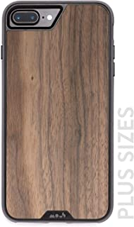 MOUS Protective iPhone Plus 8+/7+/6s+/6+ Plus Case - Real Walnut Wood