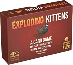 Exploding Kittens A Card Game About Kittens and Explosions and Sometimes Goats