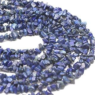 Oameusa 5-7mm Agate Chips Lapis Lazuli Chips Agate Beads Gemstone Beads Loose Beads Agate Beads for Jewelry Making 34