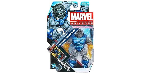 "MARVEL/'S BLASTAAR Marvel Universe 4/"" inch Action Figure #24 Series 4 2012"