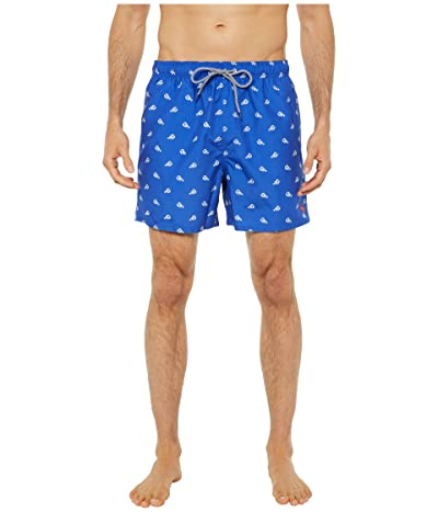 Ted Baker Lob Lobster Print Swim Shorts (Bright Blue) Men