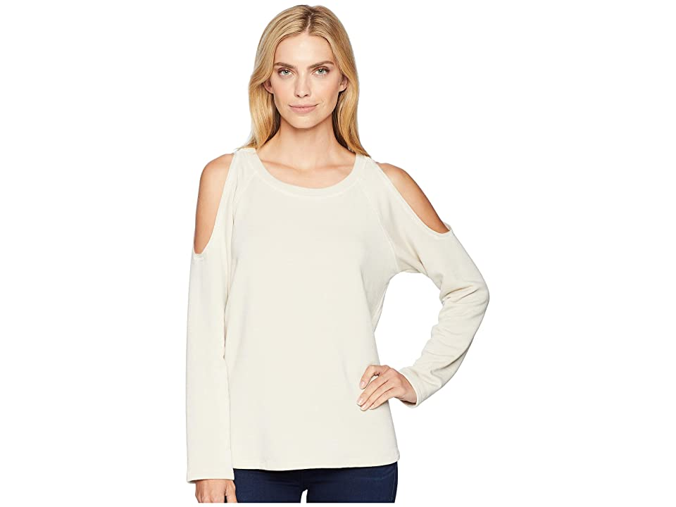 Karen Kane Cold Shoulder Top (Stone) Women