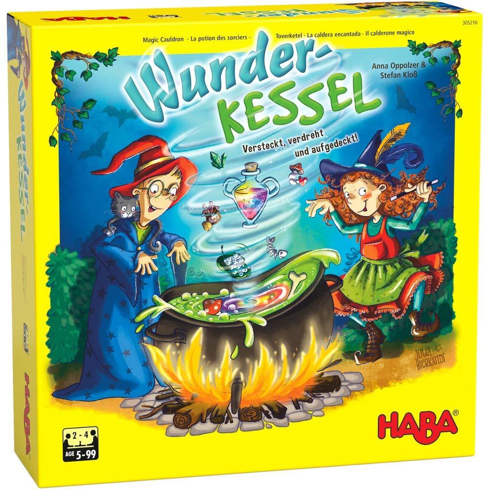Habermass La Caldera encantada - Juego de Mesa para niños [Castellano]: Amazon.es: Juguetes y juegos