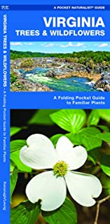 Virginia Trees & Wildflowers: A Folding Pocket Guide to Familiar Plants (Wildlife and Nature Identification)