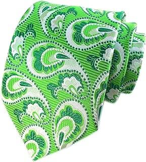 Secdtie Mens Big Floral Silk Cravat Ties Woven Business Formal Necktie Nearwear