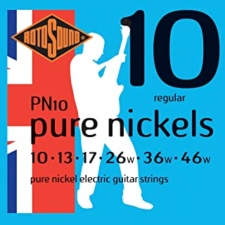 Rotosound PN10 Pure Nickel Electric Guitar Strings (10-46)