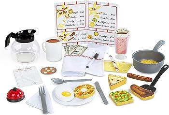 41 Piece Melissa & Doug Star Diner Restaurant Play Set