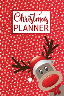 Christmas Planner: The Ultimate Organizer - with Holiday Shopping List, Gift Planner, Online Order and Greeting Card Address Book Tracker