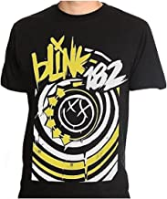 Apparel Blink 182 - Happy Face Logo - Men's T-Shirt Black