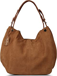 Women's Genuine Leather Suede Purse Shoulder Bag Casual Hobo bag