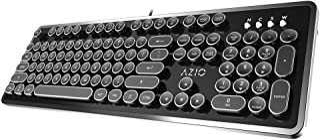Azio Retro - USB Mechanical Keyboard (Blue Switch)
