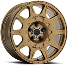 Method Race Wheels MR502 RALLY Bronze Wheel with Machined Center Ring (17x8