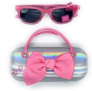 Jojo Siwa Kids Sunglasses with Matching Glasses Case and UV Protection