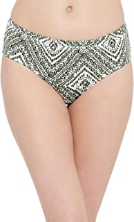 Clovia Women's Cotton Mid Waist Printed Hipster Panty with Inner Elastic